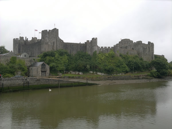July: Pembroke Castle