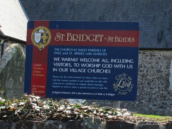 St Bridget's, St Brides