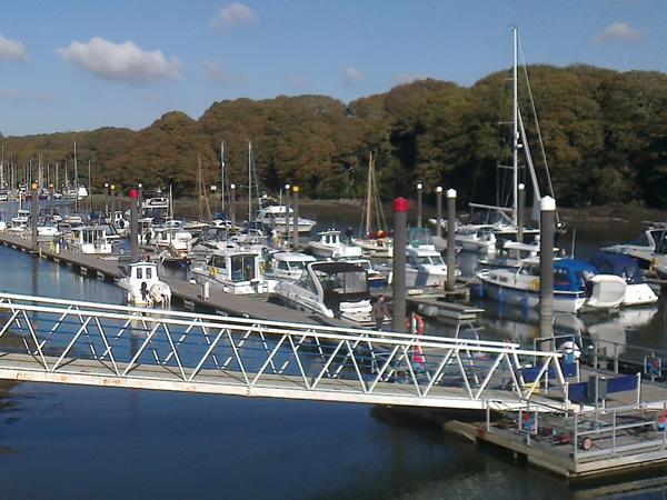 Neyland Marina in October